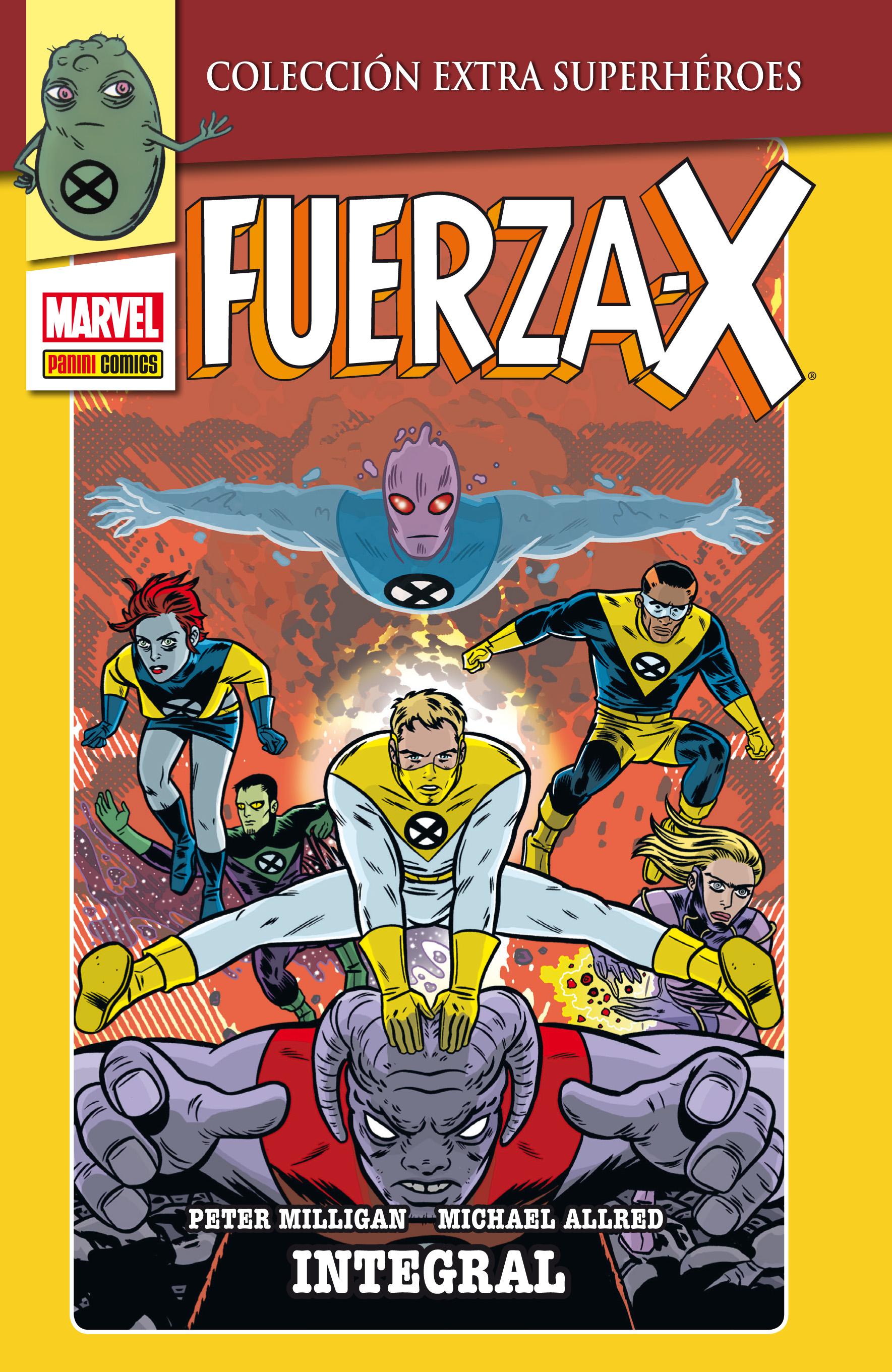 Fuerza X, de Peter Milligan y Mike Allred.