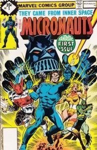Portada de Micronauts #1