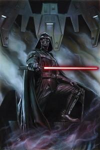 Portadad de Star Wars: Darth Vader 1, a cargo de Adi Granov.