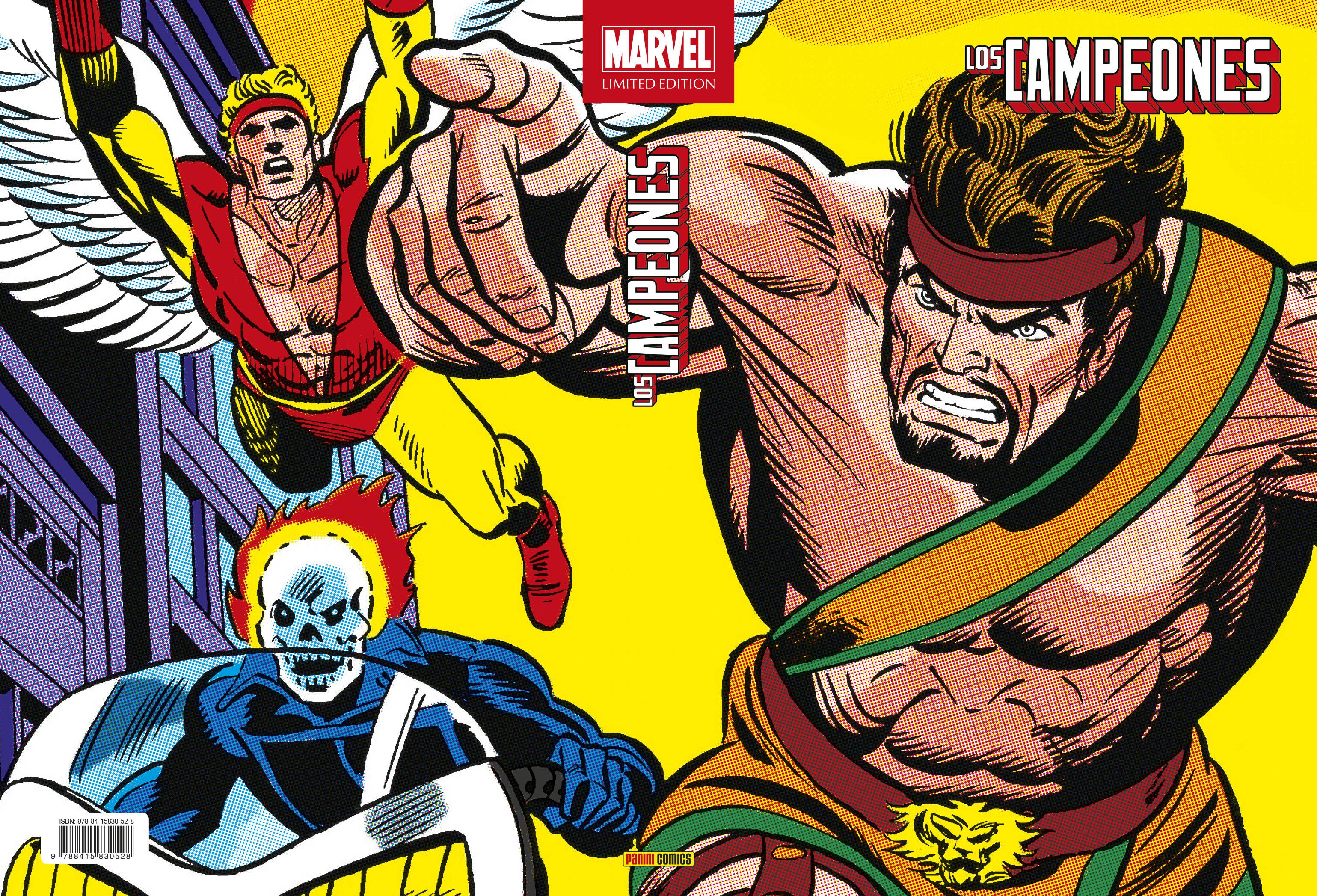 Marvel Limited Edition. Los Campeones