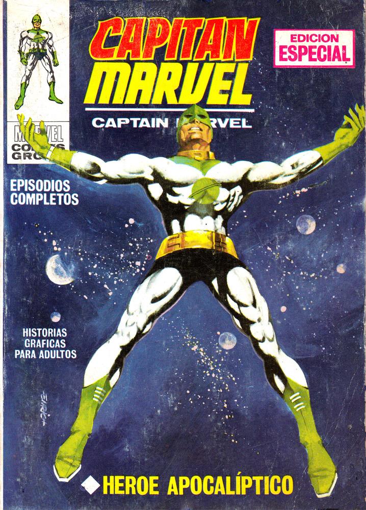 Capitán Marvel nº 1. Agosto 1969. Portada: Enrich