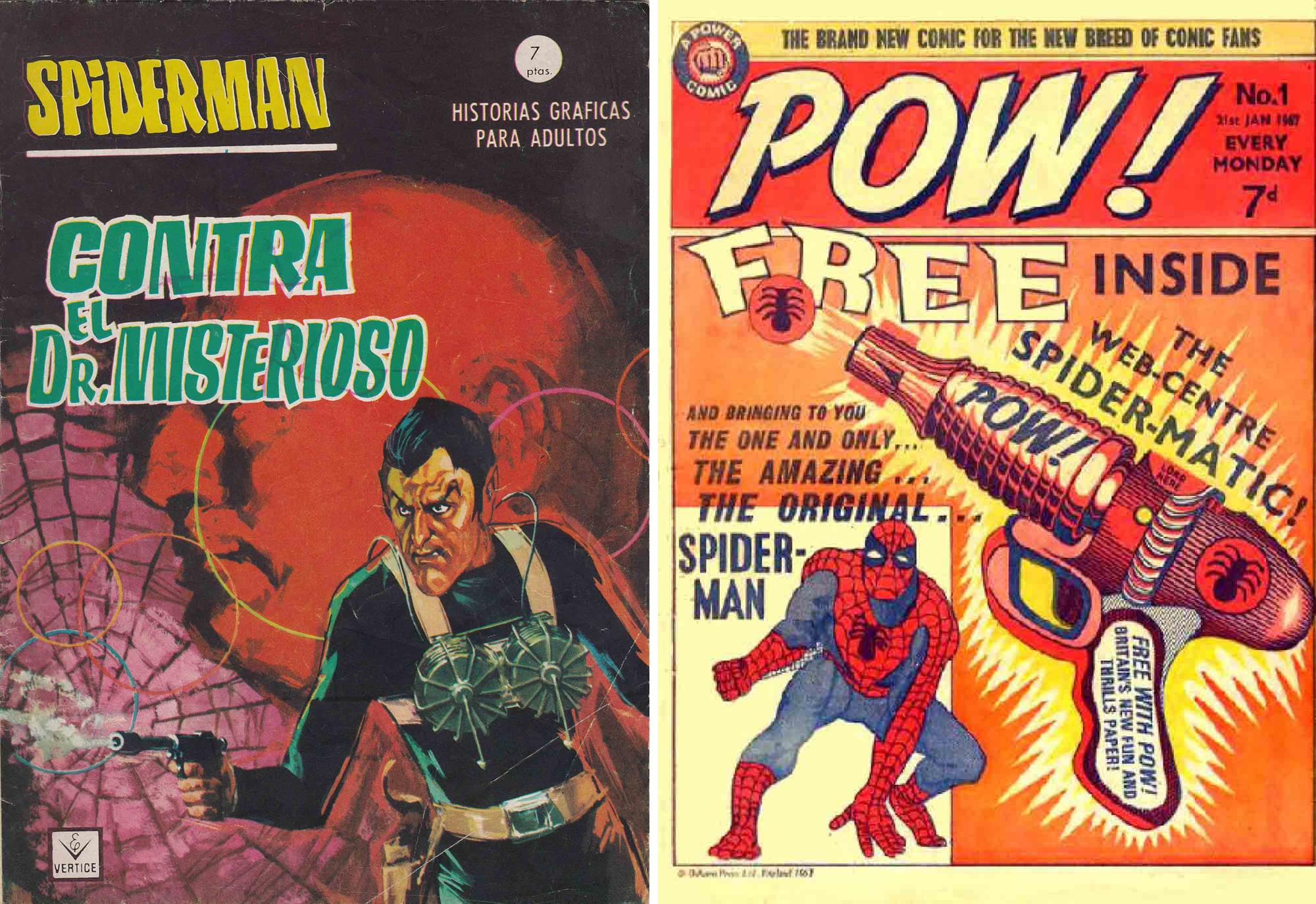 Spiderman-Pow