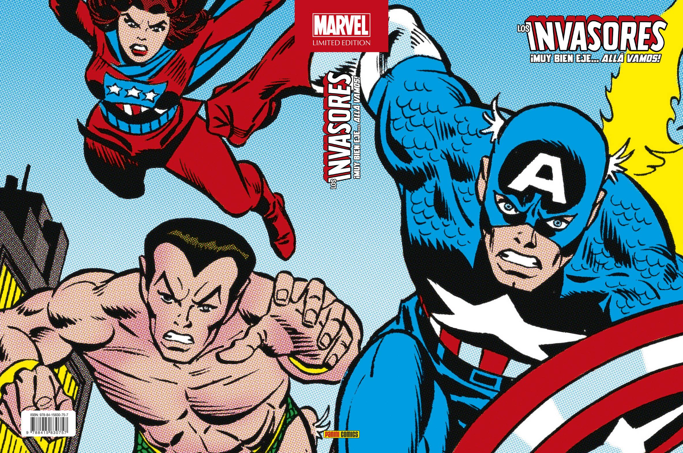 Marvel Limited Edition. Los Invasores 1