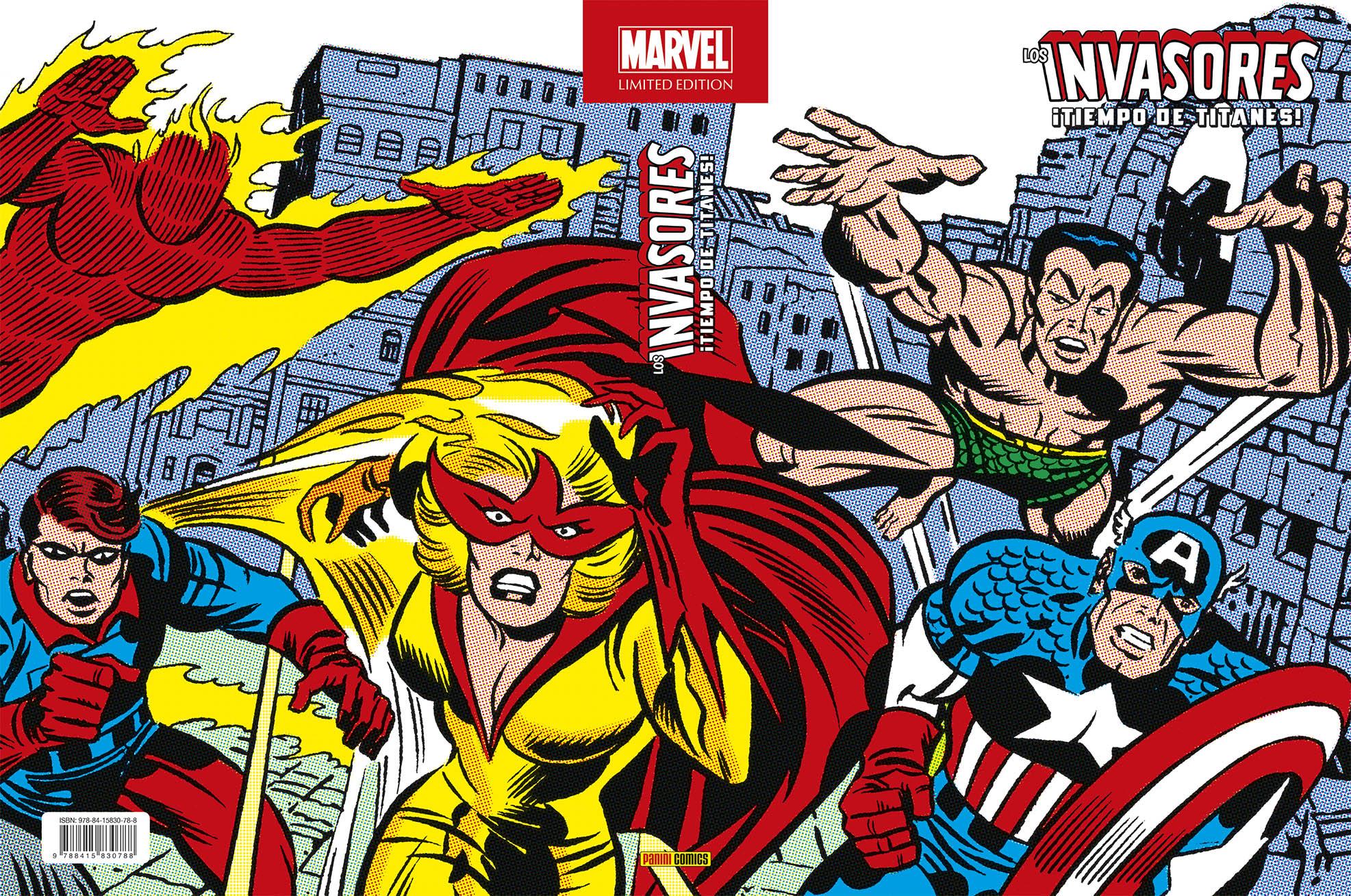 Marvel Limited Edition. Los Invasores 2