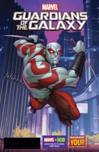 MARVEL UNIVERSE: GUARDIANS OF THE GALAXY #13