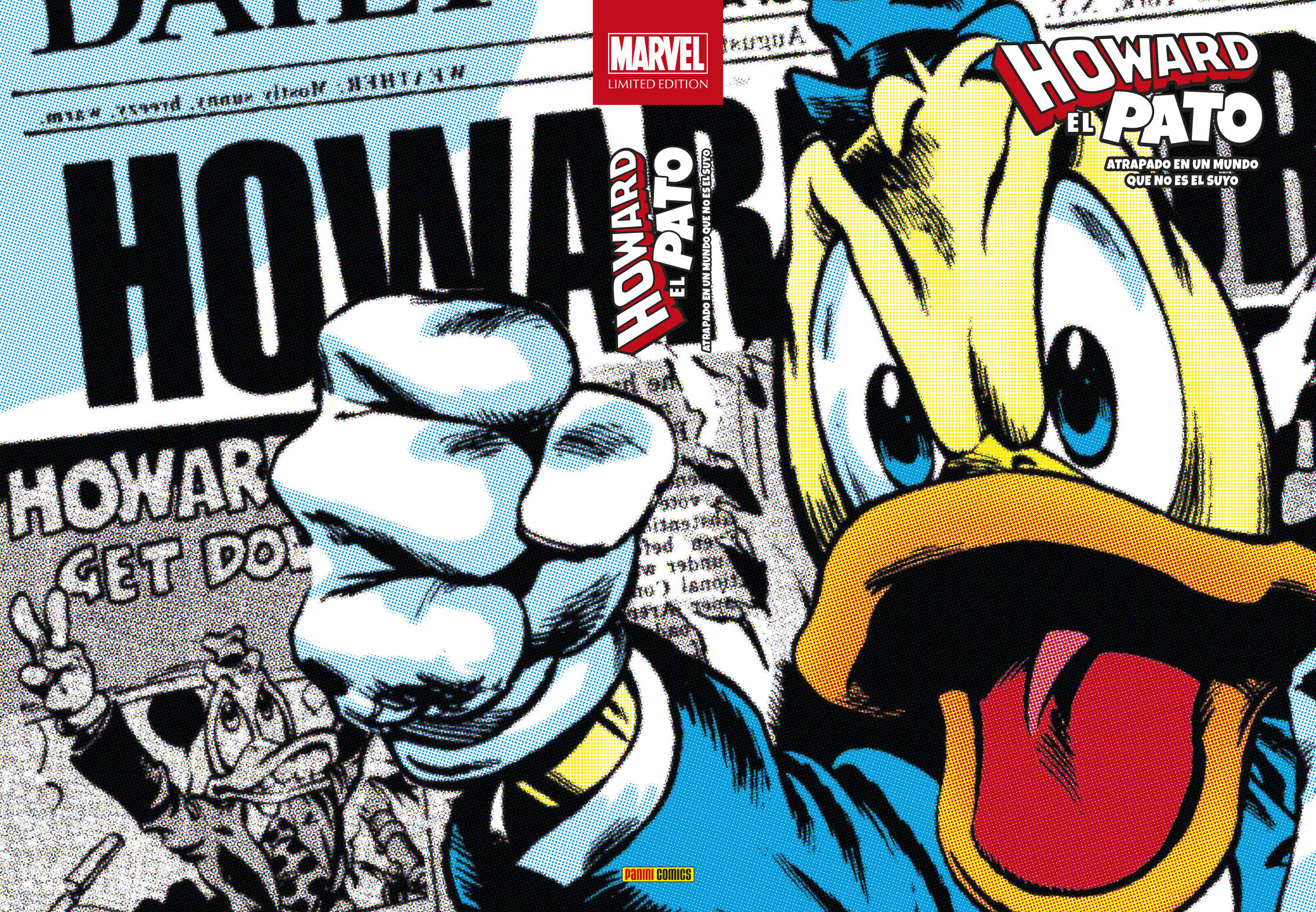 Marvel Limited Edition. Howard el Pato Atrapado en un mundo que no es el suyo