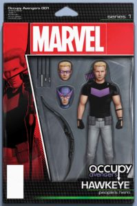 OCCUPY AVENGERS #1 - Christopher