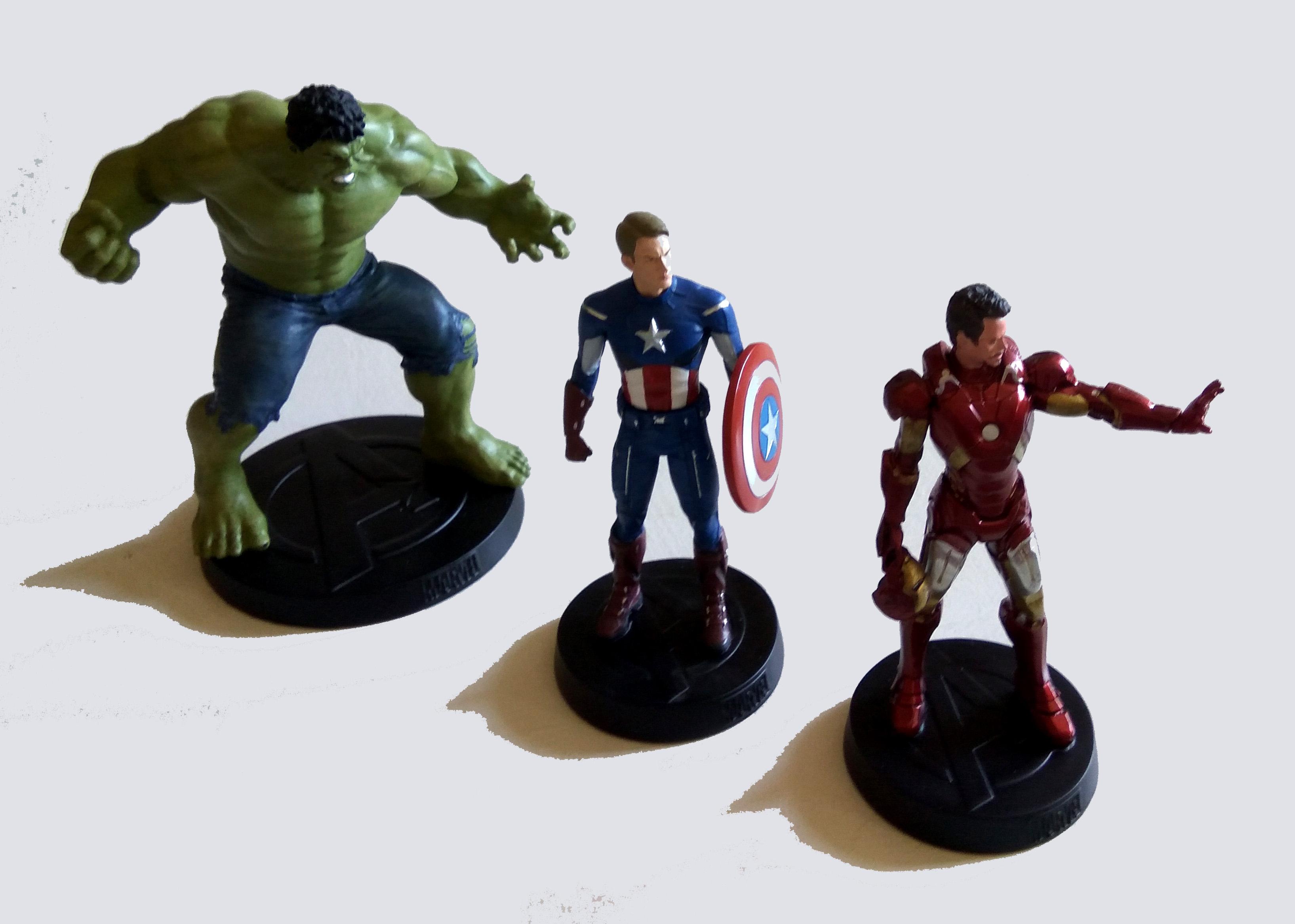 Marvel Movie Collection, desempaquetando el primer envío